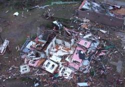 Le immagini aeree di quello che è rimasto di Wetumpka