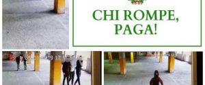 """Individuati i vandali del parcheggio Talete a Siracusa, al via la campagna """"Chi rompe paga"""""""
