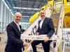 Hertz sulla livrea di Airbus A320 di Eurowings
