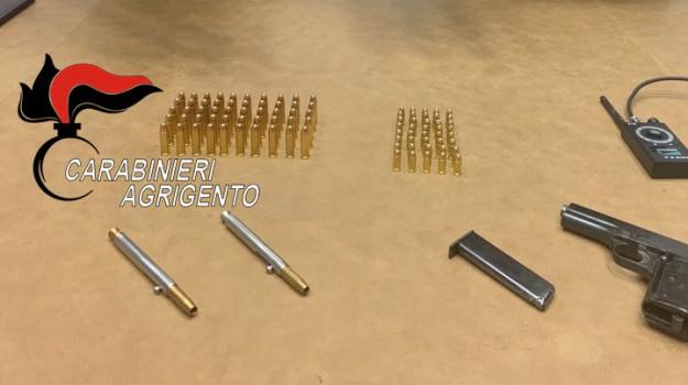 armi e munizioni agrigento, penne pistola Agrigento, Antonio Massimino, Gerlando Massimino, Agrigento, Cronaca