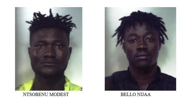 arrestati migranti cara mineo, Catania, Cronaca