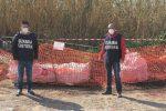 Scicli, scoperta a Cava d'Aliga una tonnellata di amianto