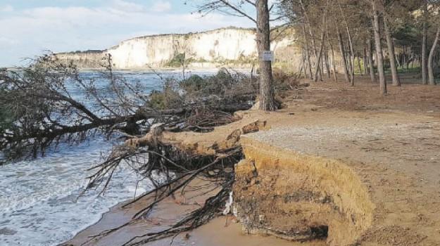spiaggia eraclea recupero, Agrigento, Cronaca