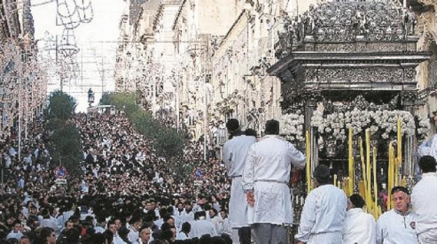 festa di sant'agata, Salvo La Rosa, Catania, Società