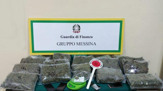 arresti messina, marijuana messina, sequestro droga, Messina, Cronaca