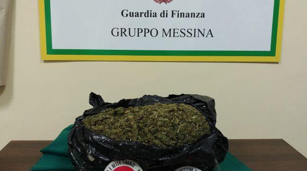 arresto droga online, marijuana messina, Messina, Cronaca