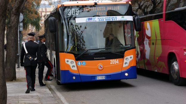 borseggiatori palermo, linea amat 309, Palermo, Cronaca