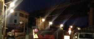 Illuminazione vicolo della Ferrovia