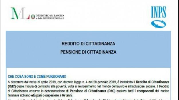 caf, inps, reddito di cittadinanza, Sicilia, Economia