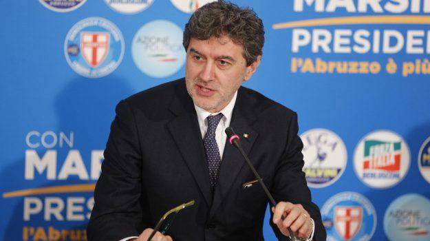 Marsilio presidente Abruzzo, regionali abruzzo, Marco Marsilio, Sicilia, Politica