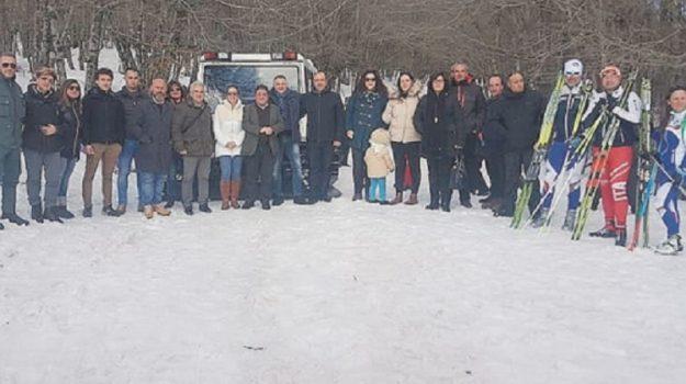 piscta sci fondo nebrodi, Messina, Cronaca