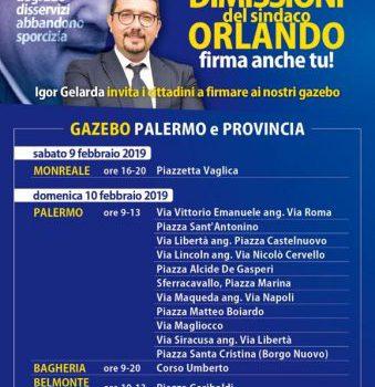 no orlando day, Palermo, Politica