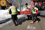 Piano Battaglia, 9 interventi del Soccorso alpino nel week-end: 17enne riporta un trauma cranico