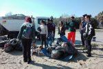 Ripulita la spiaggia La Plaja di Catania, quasi 500 chili di rifiuti rimossi