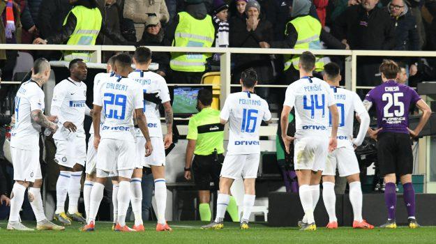 Abisso sospeso, Arbitro, Fiorentina, inter, var, Rosario Abisso, Sicilia, Calcio