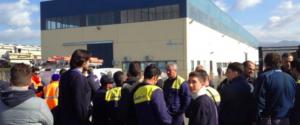 Esuberi, secondo giorno di sciopero allo stabilimento della Sirti di Carini