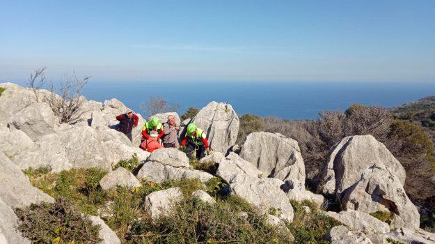 escursionista ferito monte pellegrino, Palermo, Cronaca