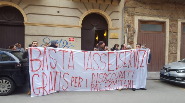 Disoccupati organizzati, tasse palermo disoccupati, tasse per fasce disagiate, Palermo, Economia