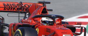 Sebastian Vettel a Montmelò durante la seconda giornata di test