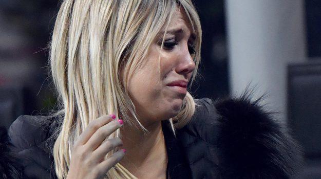 wanda nara lacrime, wanda nara tiki taka, Mauro Icardi, Wanda Nara, Sicilia, Sport