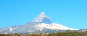Eruzione dell'Etna, foto Mario Pafumi