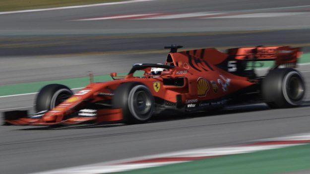 Ferrari, formula 1, prove libere Ferrari, Sebastian Vettel, Sergio Perez, Valtteri Bottas, Sicilia, Sport