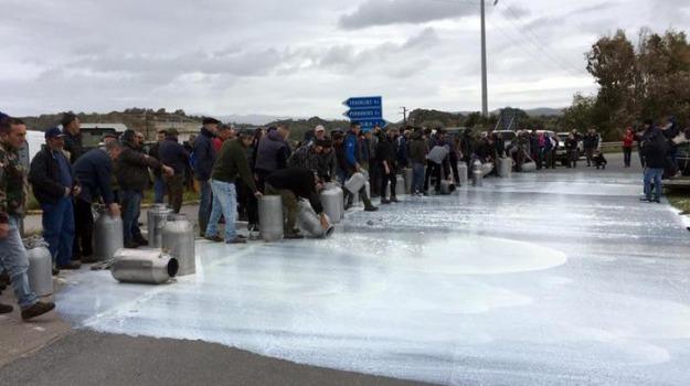 assalto, protesta del latte, Sardegna, Sicilia, Cronaca