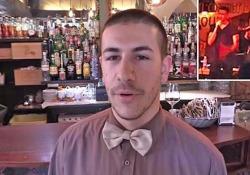 Al Beverin di via Brera, di proprietà di un cugino del trionfatore del Festival: «Anche lui ha lavorato come cameriere, e qui da noi ha suonato più di una volta»