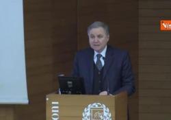 Il Governatore di Bankitalia all'Università Bocconi di Milano