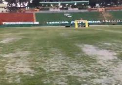Le forti piogge nella città brasiliana di Vitória da Conquista