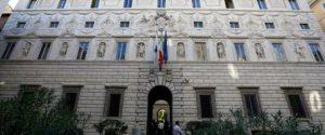 Palazzo Spada a Roma, sede del Consiglio di Stato