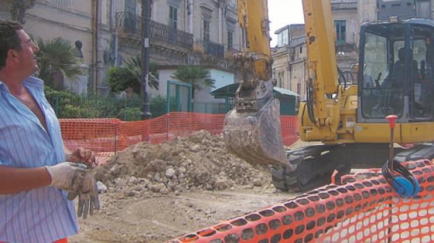favara buche, lavori strade favara, Agrigento, Cronaca