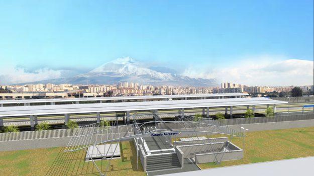 stazione fontanarossa, Catania, Economia