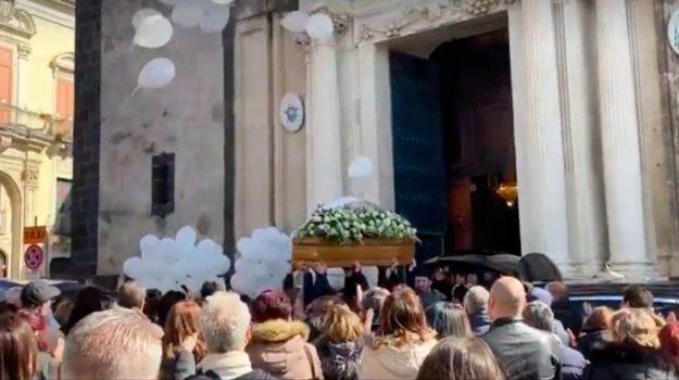 funerali, giovani dispersi acireale, Lorenzo D'Agata, Margherita Quattrocchi, Catania, Cronaca