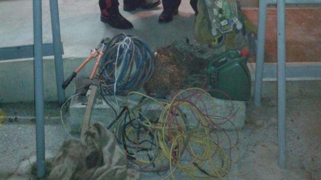 furto cavi di rame siracusa, Siracusa, Cronaca