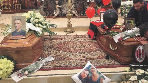funerali Noto Gabriele e Manuel, Gabriele Marescalco, Manuel Petralito, Siracusa, Cronaca