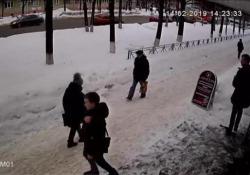 Il video arriva dalla Russia