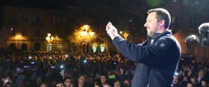 Il vicepremier e ministro dell'Interno, Matteo Salvini