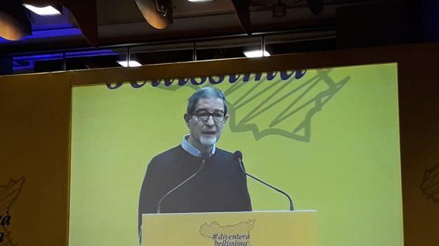 Musumeci congresso Diventerà Bellissima, Nello Musumeci, Sicilia, Politica