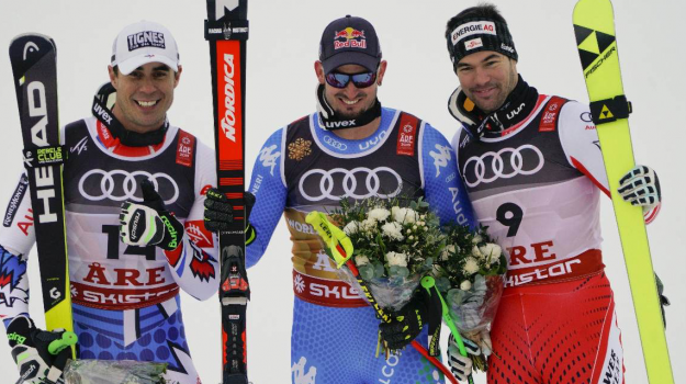 mondiali sci, Paris oro superg, Dominik Paris, Sicilia, Sport