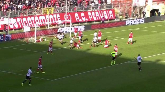 Perugia Palermo, serie b, Alberto Brignoli, George Puscas, Palermo, Calcio