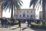 Blutec, lavoratori ancora in protesta: 2 ore di sciopero e sit-in al Comune di Termini
