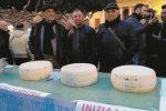 Protesta del latte anche a Vittoria, presenti 150 persone