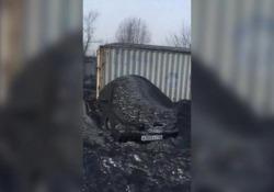 Le immagini da Kemerovo, principale regione carbonifera russa