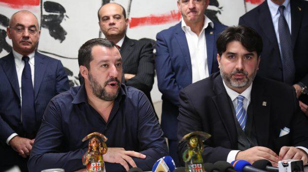 centrodestra, Lega, regionali Sardegna, Christian Solinas, Sicilia, Politica