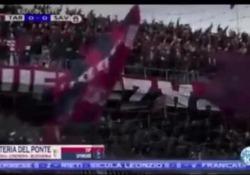 Nella partita Taranto-Savoia, campionato di serie D