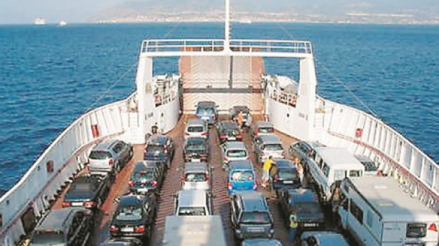 stretto di messina tariffe navigazione, Messina, Economia