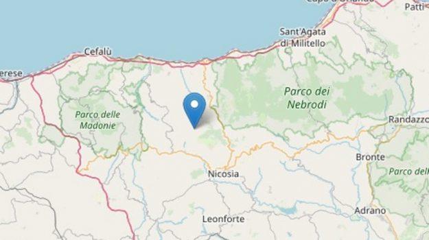 terremoto madonie, terremoto nebrodi, Sicilia, Cronaca