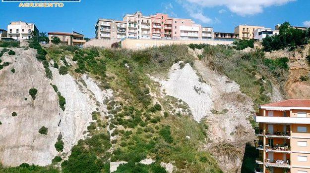 frana, porto empedocle, regione sicilia, Agrigento, Cronaca