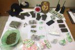 Ai domiciliari con hashish, marijuana e coca a Siracusa: arrestato